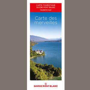 Savoie Mont Blanc tourist map