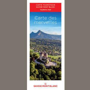 Carte des merveilles Savoie Mont Blanc