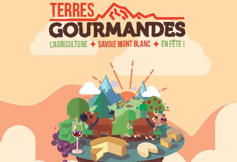 Invitation Terres Gourmandes - Couv © DR